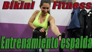 Espalda. Entrenamiento dorsales para bikini fitness con Celeste Pastore |No pain All gain tv|