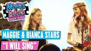 MAGGIE & BIANCA Fashion Friends 🎵 I Will Sing | Disney Channel Songs
