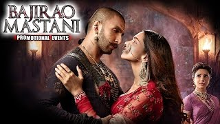 Bajirao Mastani (2015) Movie Promotional Events | Ranveer, Deepika, Priyanka