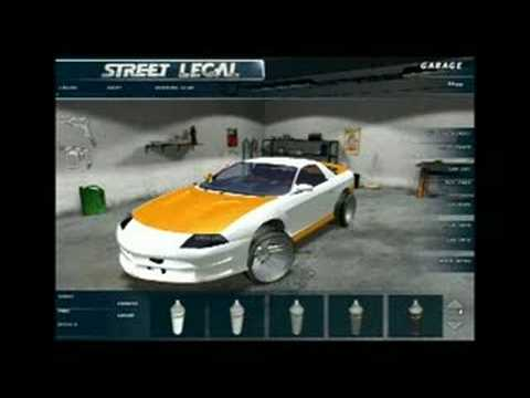 Street Legal Racing building a car