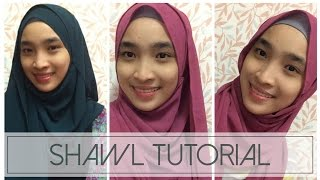 Shawl Tutorial 4 Styles Playithub Largest Videos Hub