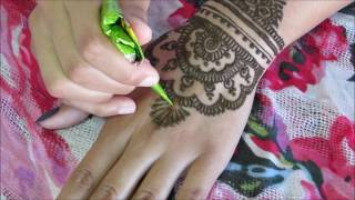 Tribal inspired henna tutorial | Raisa's Mendhi Art