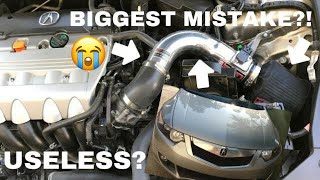 Injen SP1432P Cold Air Intake CAI Review Acura TSX Are Intakes Worth It?