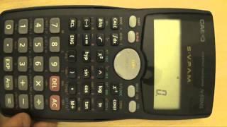 Cálculos con grados, minutos y segundos. ¿Cómo utilizar una calculadora científica Casio fx-570MS?
