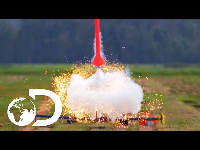 A Sugar Powered Rocket   Street Science
