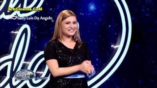 الفنانة نانسي حوا من حيفا فلسطين تجارب الإداء الموسم ال 4 الحلقة ال 3 عرب ايدول  Arab Idol 2016