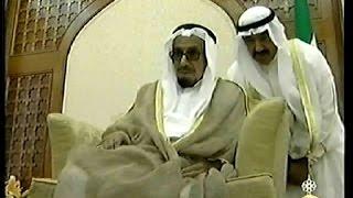 الشيخ جابر الاحمد الجابر الصباح يستقبل الوزراء وكبار الدوله