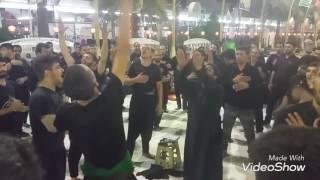 6th muharram kerbala 2016. Latm pursa isfahan group imam Qasim a.s