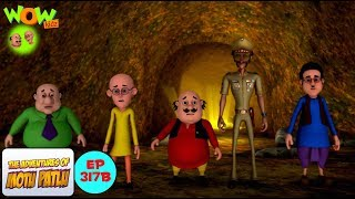Khazana khazana - Motu Patlu in Hindi - 3D Animation Cartoon - As on Nickelodeon