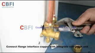 cold room installation  from CBFI vegetable meat fruit milk freezer and chiller cold room