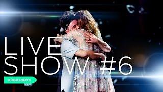 X Factor in 3 minuti: Live Show #6