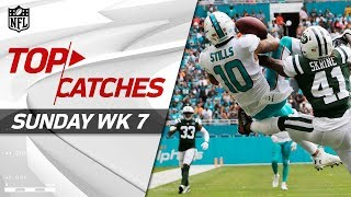 Top Catches from Sunday | NFL Week 7 Highlights
