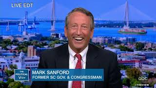 """Mark Sanford on Getting Support and Trumps """"Go Back"""" Tweets   The View"""