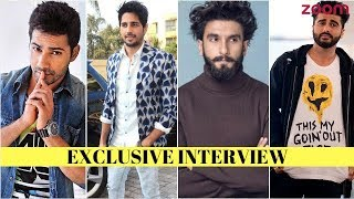 Sidharth Malhotra Talks About The Pressure Of Competing With Varun, Ranveer & Other B-Town Stars