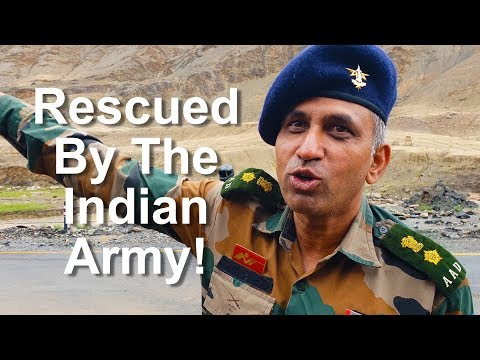 Survived a Landslide Thanks to Indian Army