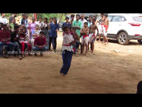 Kalaripayattu Stick Rotation Girls-Indian Martial Arts