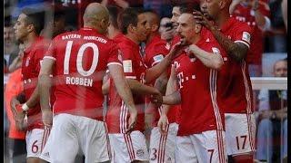 اهداف مباراة بايرن ميونخ وبروسيا دورتموند 4-1 شاشة كاملة ( الدوري الالماني )