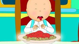 Funny Animated cartoon Kid | Caillou doesn