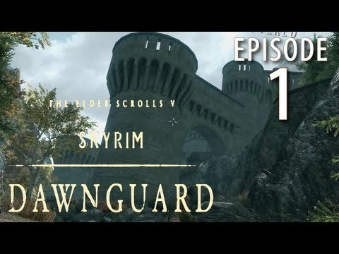 Skyrim: Dawnguard Walkthrough in 1080p, Part 1: Discovering Fort Dawnguard (in 1080p HD)