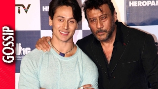 Tiger Pays Tribute To Jackie Shroff  - Bollywood Gossip 2017