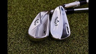 CALLAWAY X FORGED 18 APEX MB RELEASED LIVE