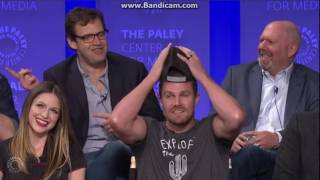 PaleyFest 2017: Intro and Arrow Panel (Stephen Amell & David Ramsey)