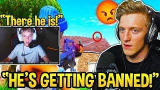 TFUE *EXPOSES* 12 YEAR OLD STREAM SNIPER! (BOTH POV) - Fortnite Moments