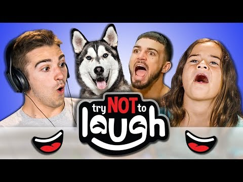 Try To Watch This Without Laughing or Grinning 58 REACT