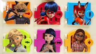 Puppeteer Ladybug Cat Noir Rena Rogue Trapped Doors Surprises Miraculous Ladybug