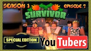 Roblox Survivor: YouTuber Special Edition 😱 | Season 1 - Episode 7 | YouTubers Compete!