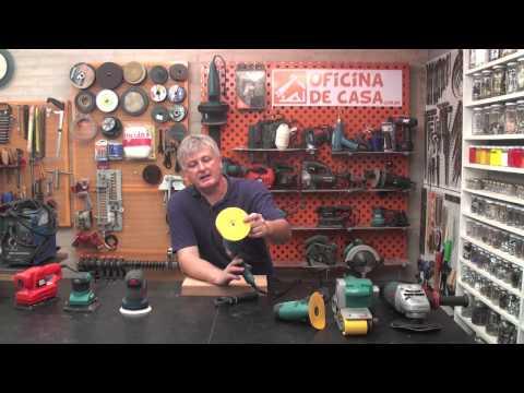 Lixadeiras elétricas Modelos e características