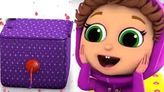 Pop Goes the Weasel and MORE!! Learn Colors with Baby Joy Joy