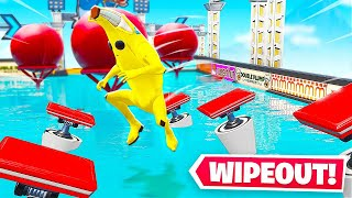 WIPEOUT Ninja Deathrun *NEW* Game Mode in Fortnite Battle Royale