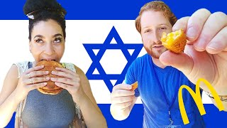 Americans Try Israeli McDonald