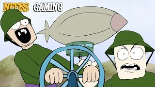 Neebs Gaming Animated - Fun With Airships (Battlefield 1)