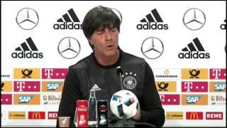 DFB Pressekonferenz: Joachim Löw 18/06/16