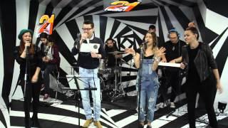 Lidia Buble feat. Adrian Sina -  Ma certi (LIVE @ RADIO 21)
