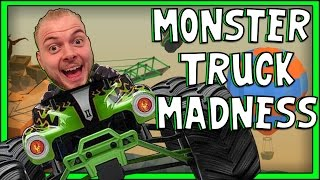 SquiddyPlays - Poly Bridge - MONSTER TRUCK MADNESS! [4]