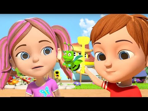 Shoo Fly Don't Bother Me | Nursery Rhymes for Children | Kids Videos And Song by Little treehouse