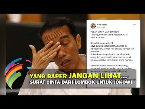 Xxx Mp4 Surat Dari Lombok Untuk Presiden Jokowi Bikin EMOSI Bercampur NANGIS 3gp Sex
