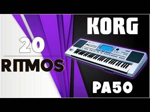 NUEVO MIX DE RITMOS Y MAS RITMOS KORG PA Series Paquete Num 1 2015