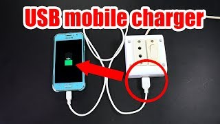 USB socket charger on electric board Using Old Charger   crazyMCH
