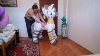 Inflatable pony / zebra Zecora from Hongyi