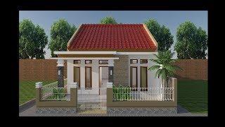 desain rumah sederhana minimalis  6x10