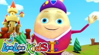 Humpty Dumpty - THE BEST Songs for Children | LooLoo Kids