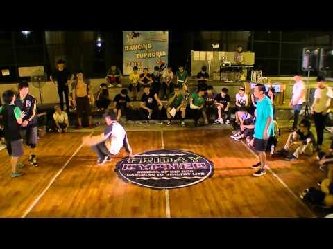 Sony,C+ vs Hin J,Monkey J|舞蹈節之FRIDAY CYPHER JULY |2 on 2 Top 8