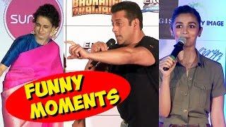 Bollywood Celebs V/s Media - Top Funny Moments (2015)