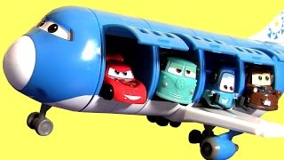 Lets Build Cars Everett Plane Turbo Loft from Tomica TakaraTomy Disney Pixar Cars2 Fillmore Guido