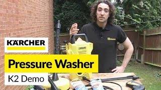Karcher K2 Pressure Washer demo