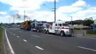 Heavy Haulage Australia - Toowoomba Range Push Pull